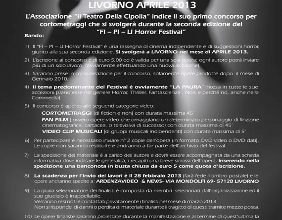FI PI LI Horror Festival 2013