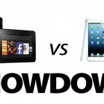 Ipad Mini contro Kindle Fire HD