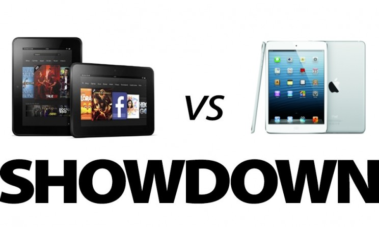 Ipad Mini contro Kindle Fire HD