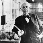 Thomas Edison Inventore Lampadina