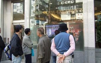 Listini Azionari in Cina al Minimo dal 28 settembre: Borsa di Hong Kong in Rosso