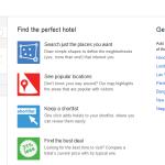 Cerca Hotel con Google