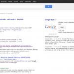 Google Plus Nelle Serp