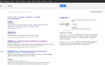 Google + in Evidenza tra i Risultati del Motore di Ricerca
