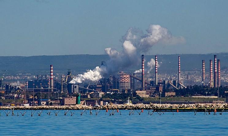 Ilva Taranto tromba d'aria