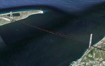 Ponte sullo stretto di Messina, non costruirlo costerà un miliardo (video)