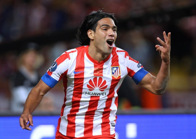 Falcao Attaccante Atletico Madrid