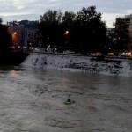 Piena del Tevere a Roma Novembre 2012