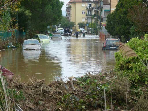 Albina Sommersa dall'alluvione