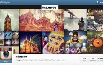 Novità Instagram: Profili Web, Ecco Cosa Sono