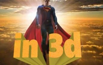 Il nuovo film di Superman in uscita nel 2013 sarà in 3D