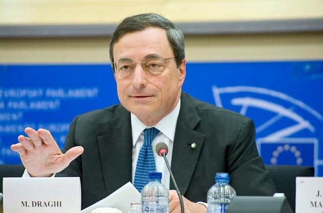 Draghi su Crescita Eurozona