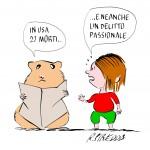 Delitto Passionale Vignetta Roberta Piredda