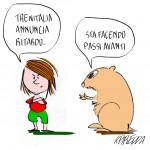 Freccia Stanca Vignetta di Roberta Piredda