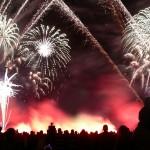 Fuochi d'artificio capodanno 2013