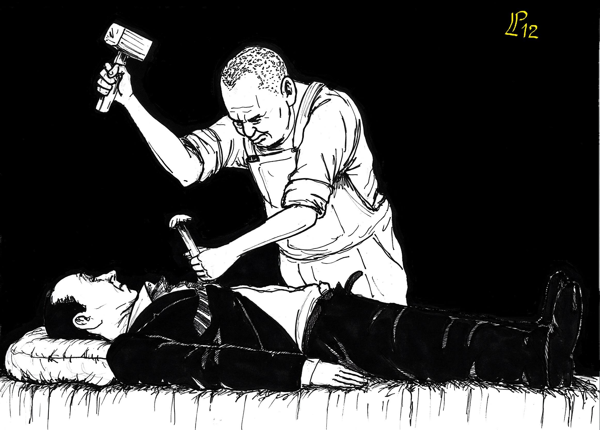 Il Ritorno del Cavaliere Vignetta Paolo Lombardi