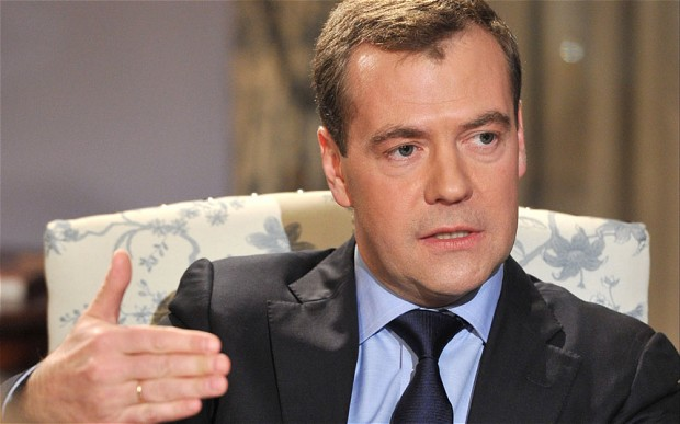 Dmitry Medvedev Alieni