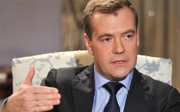 Dmitry Medvedev Alieni