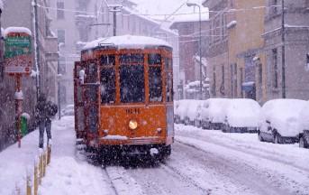 Neve al nord domani, a Milano tra i 30 e i 40 cm