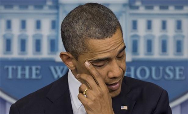 Obama Piange Strage Connecticut