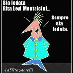 Rita Levi Montalcini Vignetta Pablito Morelli