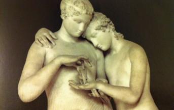 """Scultura e pittura si uniscono in """"Un abbraccio"""": Canova e Geràrd in mostra a Palazzo Marino"""