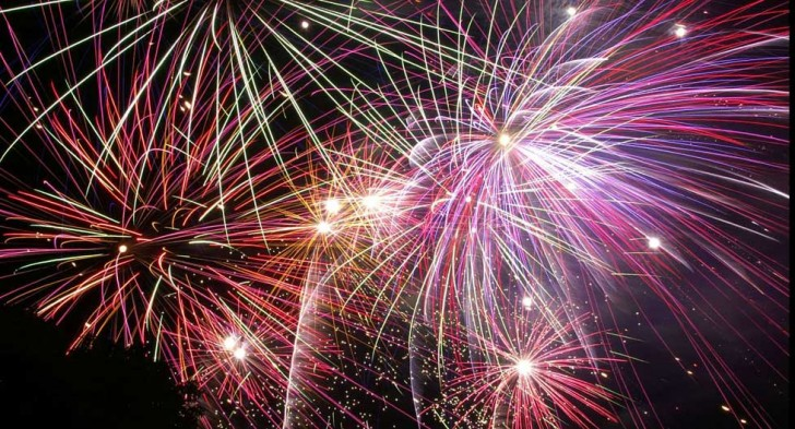 fuochi d'artificio roma