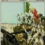 Copertina Domenica del Corriere 15 Ottobre 1911