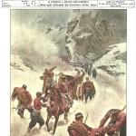 Copertina Domenica del Corriere 8 gennaio 1899