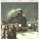 Domenica del Corriere 6 Gennaio 1901