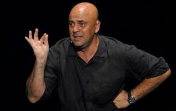 Maurizio Crozza traino dell'informazione di Rai3 e La7