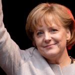 bambina palestinese Merkel