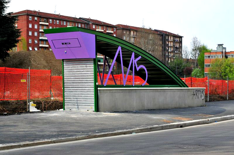 Metro lilla m5 milano inaugurazione domenica 10 febbraio for Zara nuova apertura