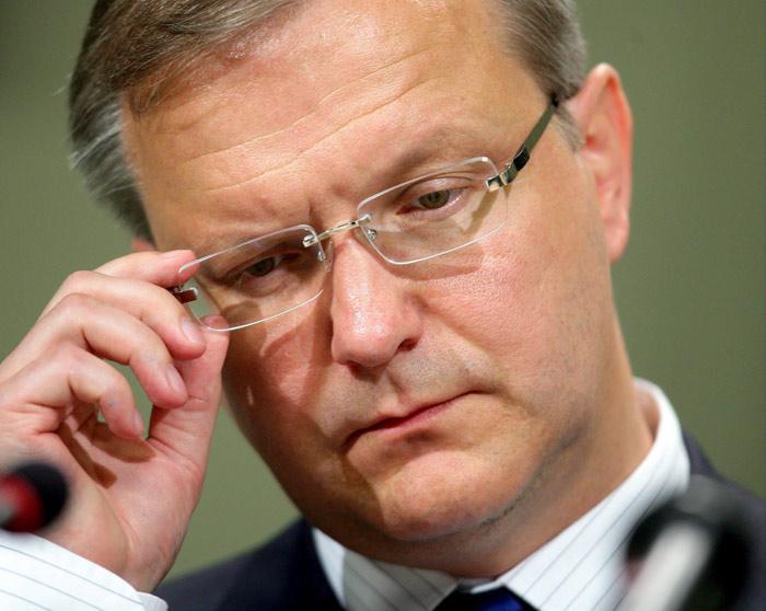 Olli Rehn Dichiarazioni su Italia