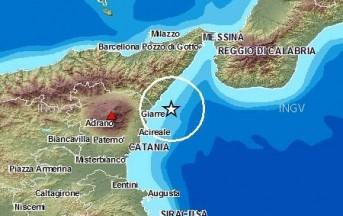 Terremoto oggi in Sicilia, scossa nello Stretto di Messina