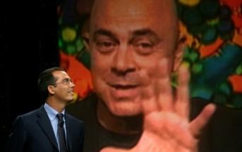 Ballarò, il video di Crozza che imita Berlusconi