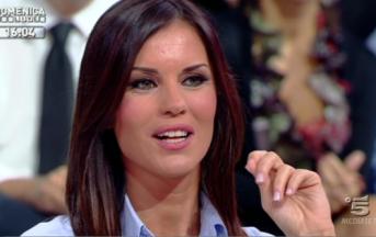 Antonella Mosetti e il nuovo look fetish