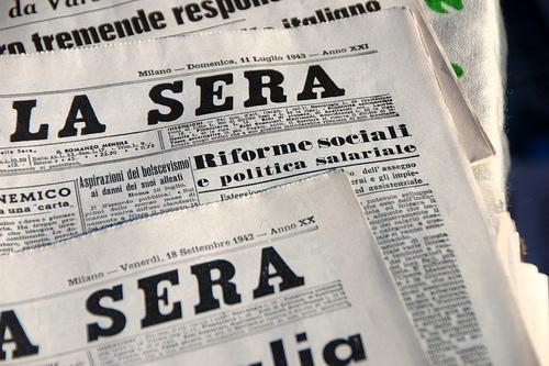 Sciopero di due giorni del corriere della sera urbanpost for Corriere della sera arredamento