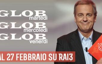 Enrico Bertolino torna con Glob stasera su Rai 3