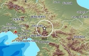 Terremoto oggi in Irpinia, scossa di magnitudo 2.8 a Sant'Angelo dei Lombardi