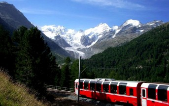 San Valentino 2013, idee: sali a bordo di Bernina Express