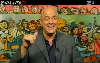 Crozza a Ballarò (Video): l'uveite di Berlusconi e l'avvocato Ghedini