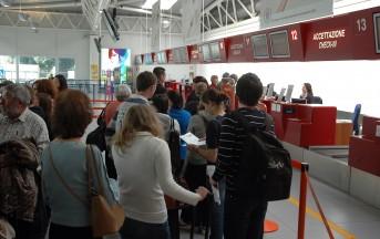 Aeroporto di Roma Fiumicino: voli in ritardo per un guasto al software