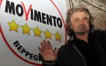 Grillo attacca i giornalisti e mostra la ricevuta del ristorante