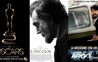 La notte degli Oscar 2013, Domenica gli awards, chi saranno i vincitori?