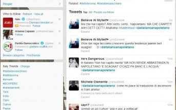 #daitalianoanapoletano, #daitalianoasiciliano, #dettideroma: gli hashtag più popolari su Twitter