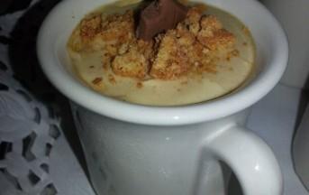 Ricetta panna cotta al caffè e cioccolato: foto