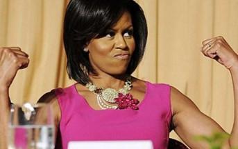 Michelle Obama è la fist lady più social: auguri a Barack su Twitter