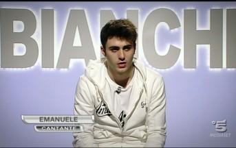 Amici 2013: Emanuele lancia accuse pesanti al programma.