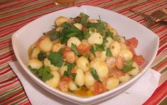 Gnocchetti di patate con gamberetti e pomodorini: foto e preparazione